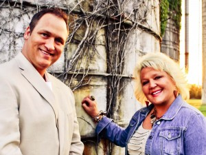 "Randy and Sherri Miller, Recording Artists on the song ""My God is There"""