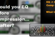 EQ before after Compressor
